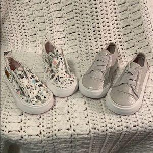 Blowfish Sneakers 2 Pair Little Girls